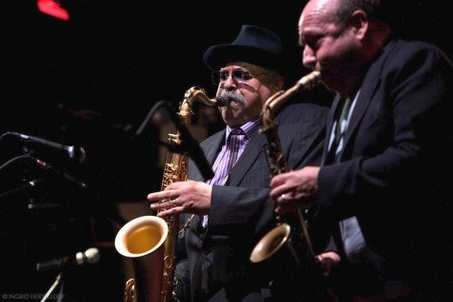 Joe Lovano & Bob Mover