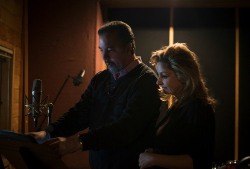Producer Charles Carlini & Sarah Hayes